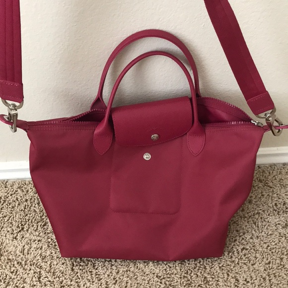 Longchamp Handbags - Small Longchamp Le Pliage Neo in Pink 9cbefa263d63b